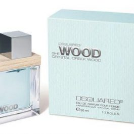 Dsquared She Wood Crystal Creek Wood edt NŐI teszter100ml